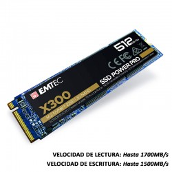 EMTEC X300 M.2 SSD POWER PRO 512 GB