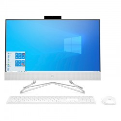"HP AIO 24-DF0073NS J4025 8GB/512GBSSD/23.8"" TACTIL/W1OHOME"