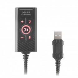Tarjeta de sonido Externa USB 7.1 MARS GAMING JACK 3.5