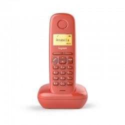 Siemens Gigaset A170 Teléfono Inalámbrico Rojo