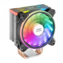 Ventilador Mars Gaming MCPUX CPU ARGB 120mm Negro