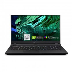 """Portátil gaming Gigabyte AERO 17HDR XC 8ES4450SP i7-10870H 32GB/1TB/GeForce RTX 3070/17,3""""/W10PRO"""