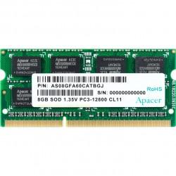Memoria SoDimm Apacer 8GB/ DDR3/ 1600MHz/ 1.5V/ CL11