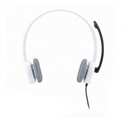 Auricular con micrófono - Logitech H150 Coconut
