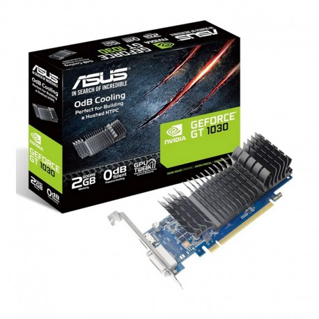 Tarjeta gráfica Asus GeForce GT 1030 Silent 2GB GDDR5