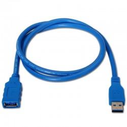 Alargador USB 3.0 A/M-A/H 1M AISENS