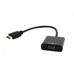 Adaptador de HDMI a VGA con audio Cablexpert