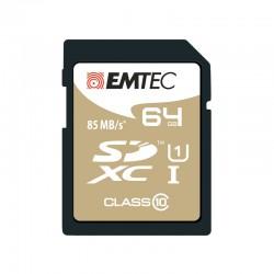Tarjeta de memoria microSD EMTEC 64GB Elite Gold Clase 10