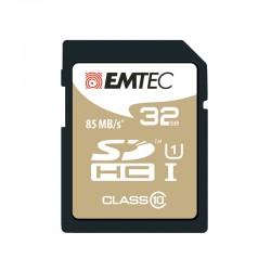 Tarjeta de memoria microSD EMTEC 32GB Elite Gold Clase 10