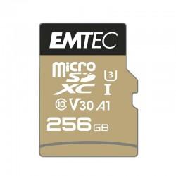 Emtec microSDHC 256GB Class10 Gold + Adaptador