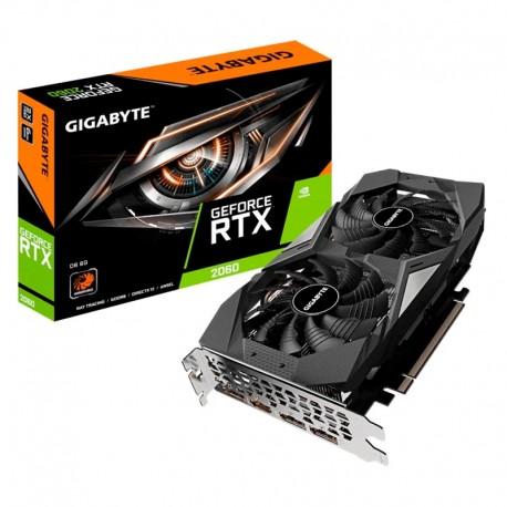 Tarjeta gráfica Gigabyte GeForce RTX 2060 D6 6GB GDDR6