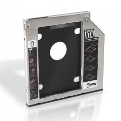 """Adaptador Aisens A129-0151 para 1x discos duros de 2.5"""" 9.5mm"""