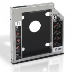 """Adaptador Aisens A129-0152 para 1x discos duros de 2.5"""" 12.7mm"""