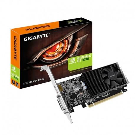 Tarjeta gráfica Gigabyte GeForce GT 1030 Low Profile D4 2GB GDDR4