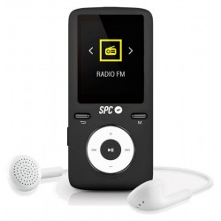 SPC Reproductor MP4 Pure Sound Colour 2 8GB Negro