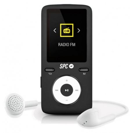 SPC Reproductor MP4 Pure Sound Colour 2 8GB Negro