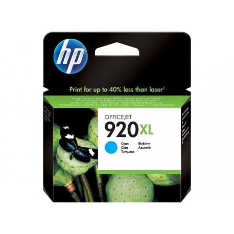 HP CD972AE Nº920 XL Cian