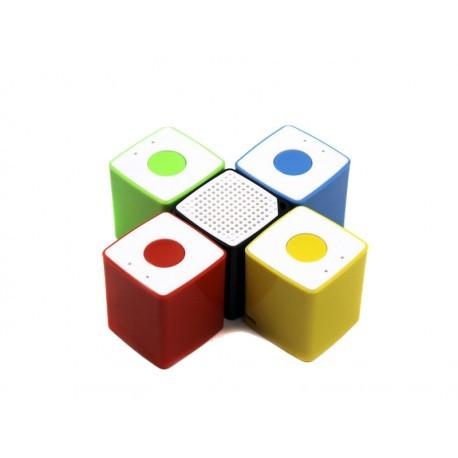 Coolbox Altavoz Cube Mini Bluetooth Amarillo