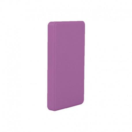 """Coolbox SlimColor 2543 Carcasa HDD/SSD 2.5"""" SATA USB 3.0 Morada"""
