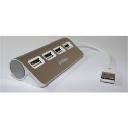 Coolbox Hub ALU2 4 Puertos USB 2.0