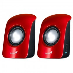 Genius Stereo Speakers SP-U115 Rojo