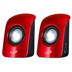Genius Stereo Speakers SP-U115 Rojo