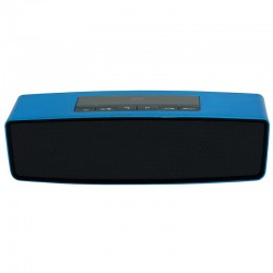 Woxter Altavoz Big Bass BT-10 Bluetooth Azul