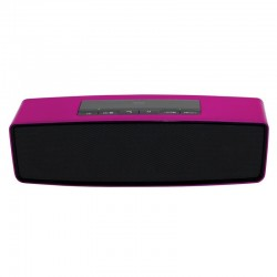 Woxter Altavoz Big Bass BT-10 Bluetooth Rosa