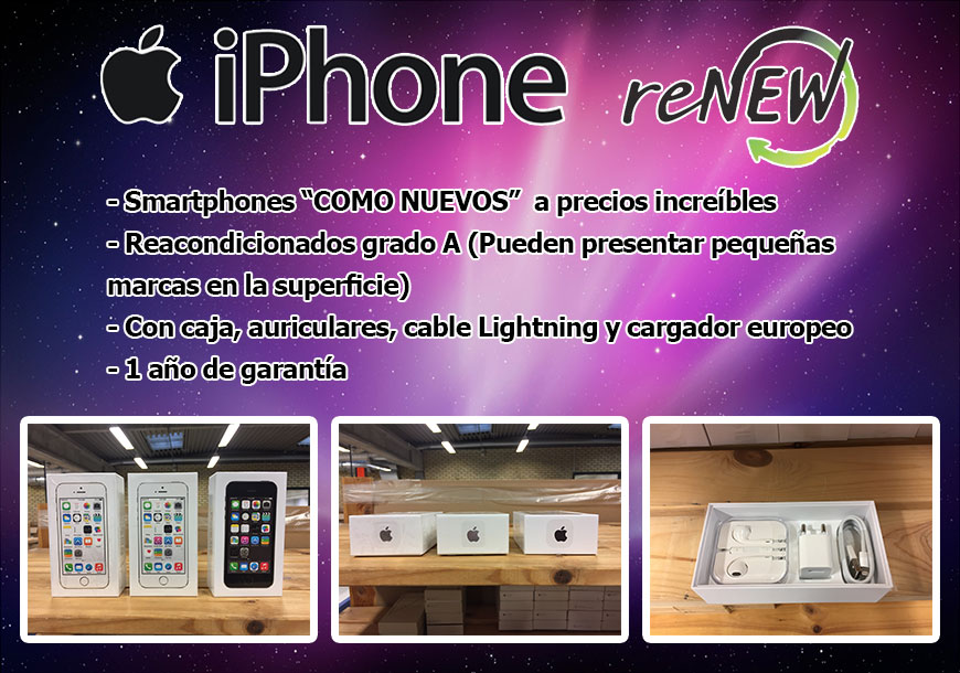 Apple IPhone Reacondicionados Grado A
