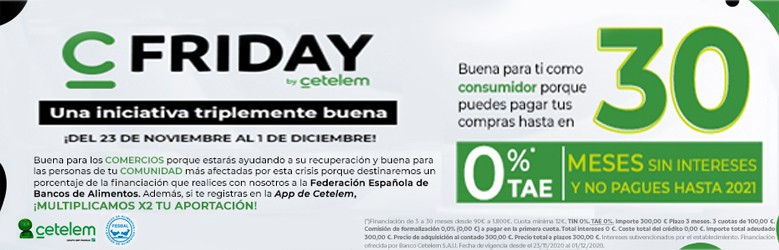 Black friday by CETELEM