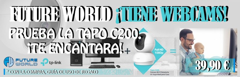 Future world tiene webcams